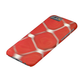 red color phone case - red and white pattern