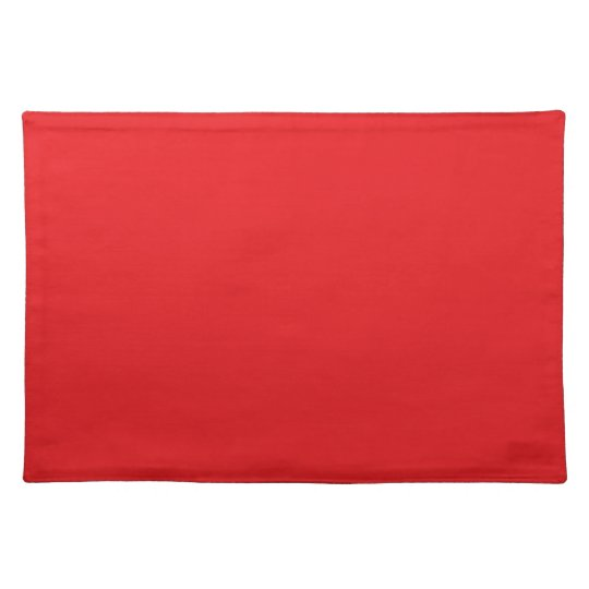 Red Colour Placemat