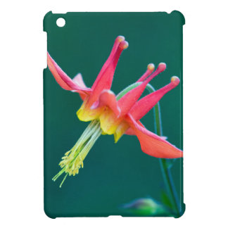 Red Columbine iPad Mini Covers
