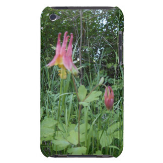 Red Columbine iPod Touch 4G Case Barely There iPod Case