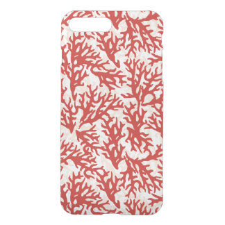 Red Coral Pattern 2 iPhone 8 Plus/7 Plus Case