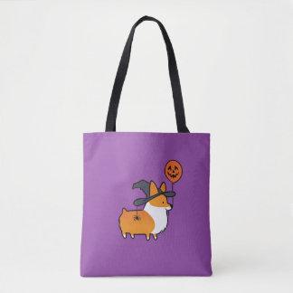 Red Corgi Halloween Bag