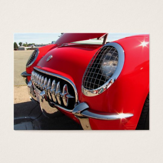 Red Corvette ~ ATC Business Card