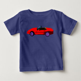 Red Corvette Baby T-Shirt