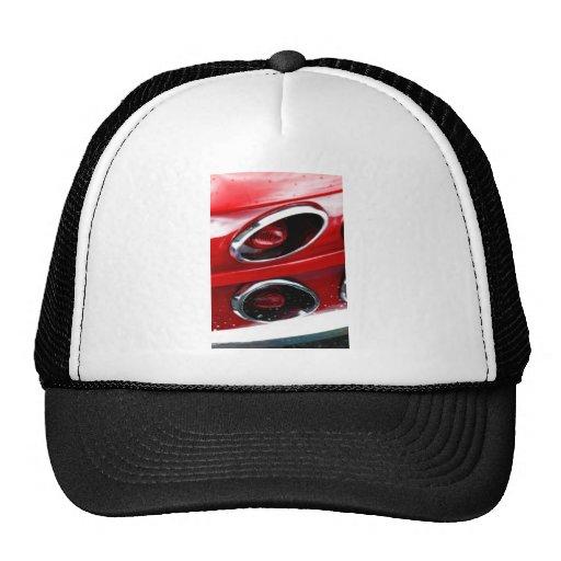 Red Corvette Stingray Mesh Hat