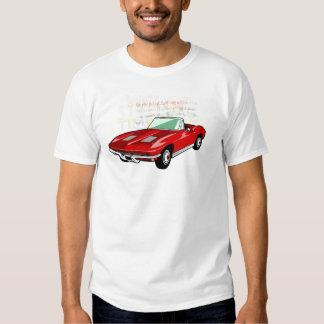 Red Corvette Stingray or Sting Ray sports car Shirt