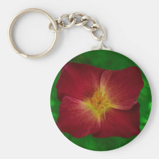 Red Cosmos Flower Design Key Chains
