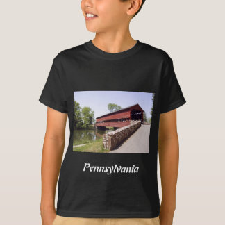 Red Covered Bridge T-Shirt