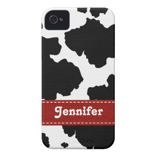 Red Cow Skin iPhone 4 4s Case-Mate Cover