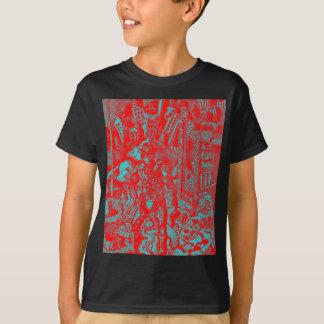 Red Cowboy Kid's Shirt