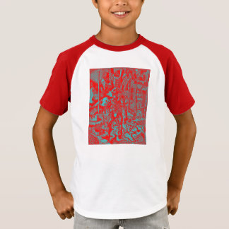 Red Cowboy Kid's Shirt
