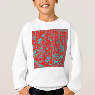 Red Cowboy Kid's Sweater