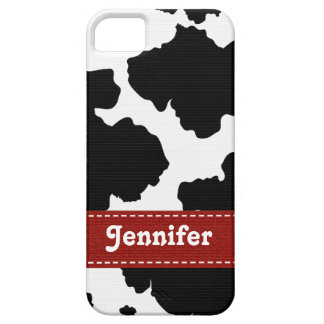 Red Cowhide iPhone 5 Covers