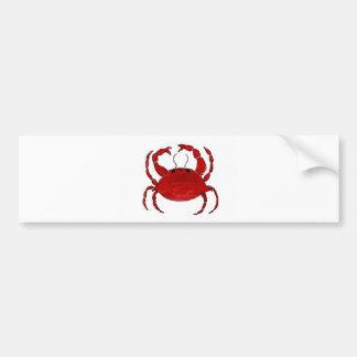 Red Crab Bumper Sticker