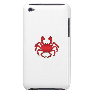 Red crab iPod Case-Mate case