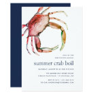 Red Crab | Crab Boil Invitation