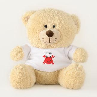Red Crab crabby Teddy Bear