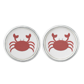 Red Crab Cufflinks