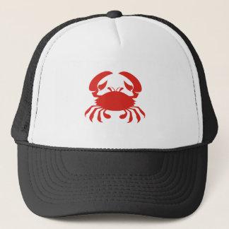 Red Crab Logo Trucker Hat