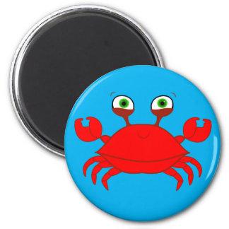 Red Crab Magnet