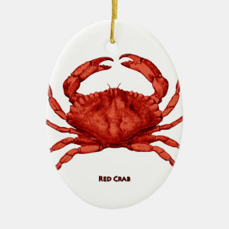 Red Crab (Pacific) Christmas Ornament