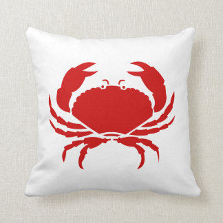 Red crab pillow cushion