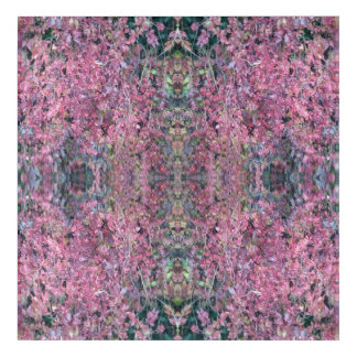 Red Creeper Photo 758 Frieze Fractal Section 2 Acrylic Print