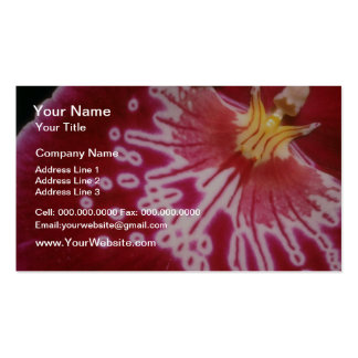 Red Crimson approach flowers Business Cards