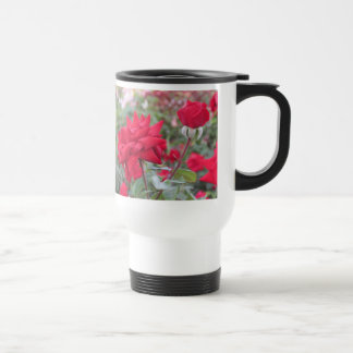 Red Crimson Bouquet Roses Mug