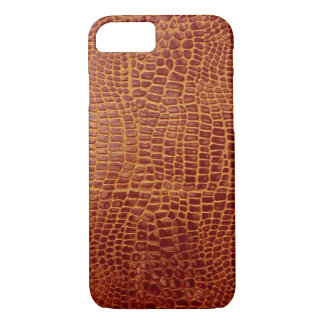 Red Crocodile iPhone 7 Case