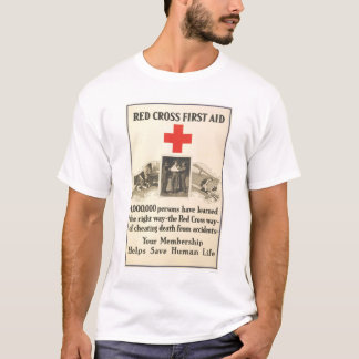 Red Cross First Aid T-Shirt