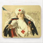 Red Cross Mouse Mat