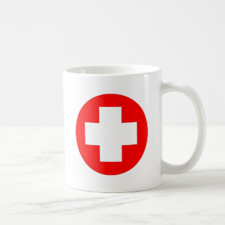 Red Cross Products & Designs! Basic White Mug