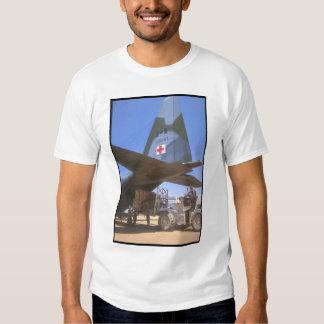 Red Cross supplies being_Military Aircraft Tee Shirt