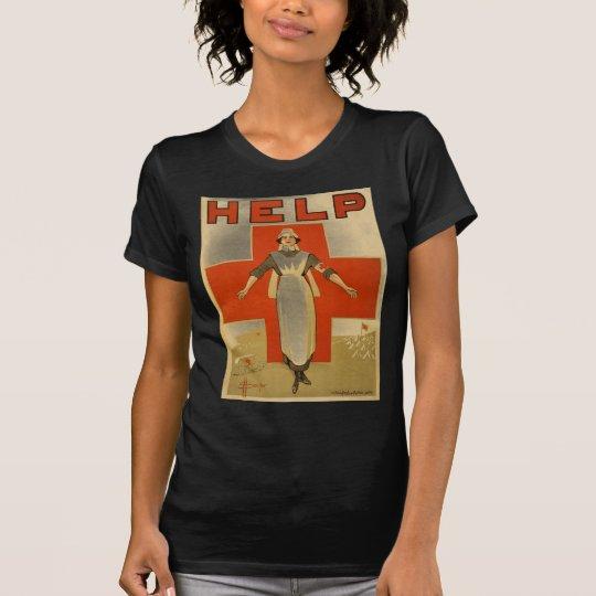 Red Cross Vintage Help Shirt