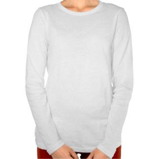 Red Crosshatch Heart T Shirt