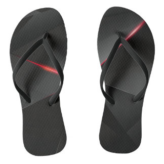 Red Crow Flip Flops