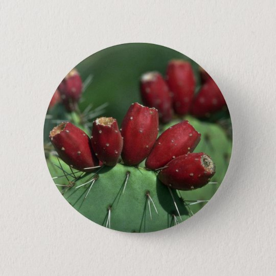 Red Crowns 6 Cm Round Badge