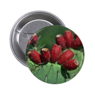 Red Crowns 6 Cm Round Badge
