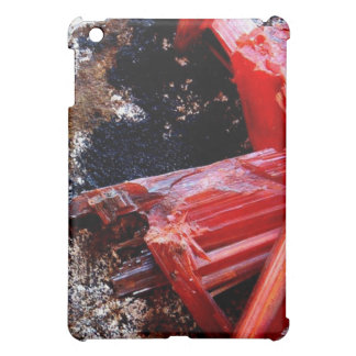 Red Crystal Geode iPad Mini Cases