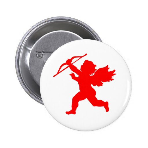 Red Cupid  Button