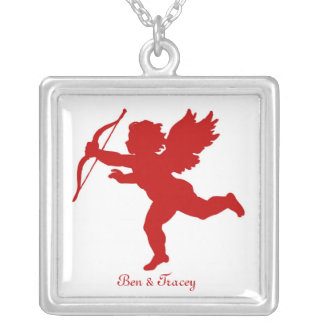 Red Cupid Necklace