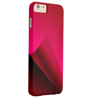 Red Curl background Barely There iPhone 6 Plus Case
