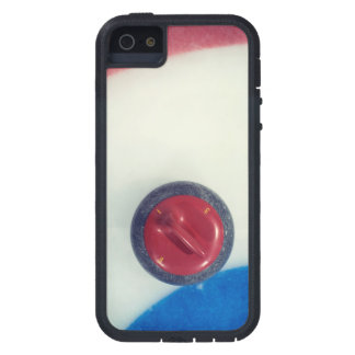 Red Curling Stone on Ice iPhone 5 Case