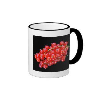 Red Currant Berry Ringer Mug