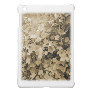 Red Currant Plants. Sepia Brown Color. Case For The iPad Mini