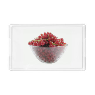red currants acrylic tray