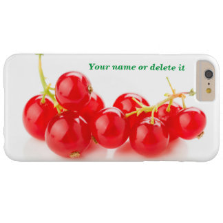 Red currants barely there iPhone 6 plus case