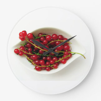 red currants large clock