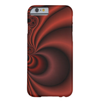 Red Curtain Barely There iPhone 6 Case